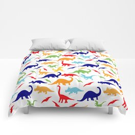 Colorful Dinosaurs Pattern Comforters