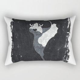 Serious Cat Rectangular Pillow