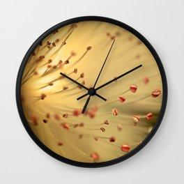 Saint John's Wort Wall Clock