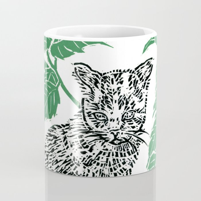 woodblock print Coffee Mug