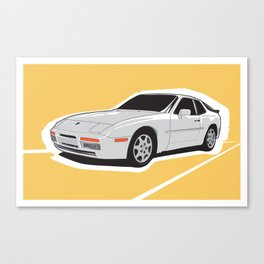 Turbo Driver Canvas Print