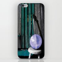 banjo iPhone & iPod Skins featuring Bluegrass Banjo by Biff Rendar