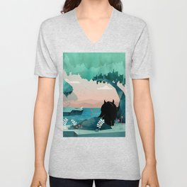 The Journey Unisex V-Neck