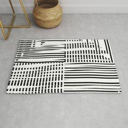 jumbled stripes Rug