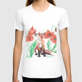 Pause & Smell the Poppies T-shirt