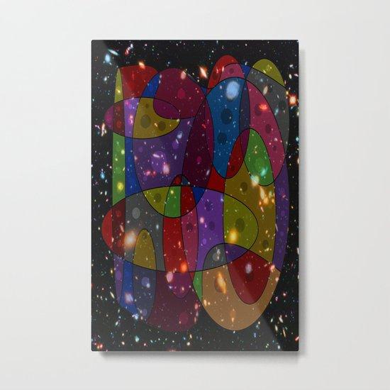 Abstract #305 Galaxies Metal Print