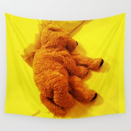 Love is... Teddy dog Wall Tapestry