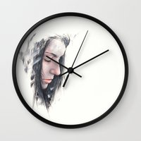 serenity Wall Clocks featuring [ serenity ] by Nicolaus Ferry