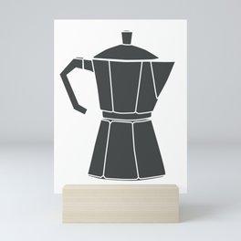 Kitchen Tools (black on white) Mini Art Print