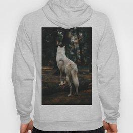 Wolf Backside (Color) Hoody