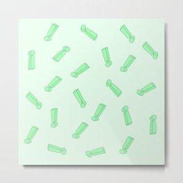 Exclamation mark pattern Metal Print