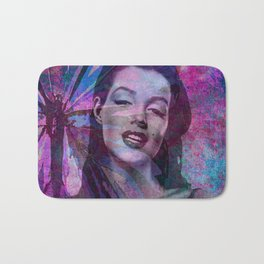 Marilyn: Young and Beautiful Bath Mat