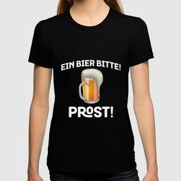 Beer Please German Ein Bier, Bitte! Prost! German Pride T-shirt