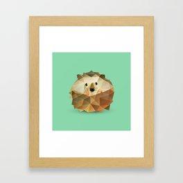 Hedgehog. Framed Art Print