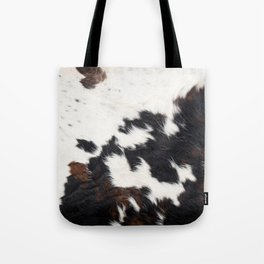 Brown Cowhide Tote Bag