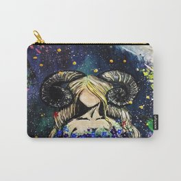 Faceless Aries Carry-All Pouch