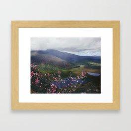 Ireland Mountains Framed Art Print