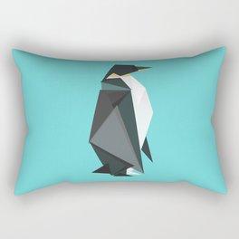 Fractal geometric emperor penguin Rectangular Pillow
