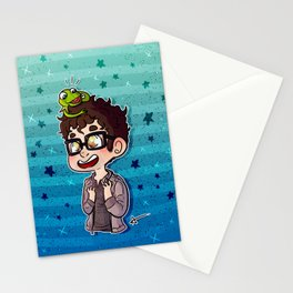 Darren and Kermit Stationery Cards