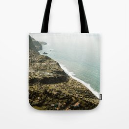 Madeira Portugal Coast Tote Bag