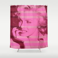 marilyn Shower Curtains featuring Marilyn ! by Mr and Mrs Quirynen