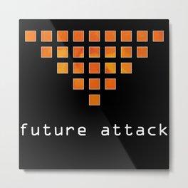 Ersebiassa - future attack Metal Print
