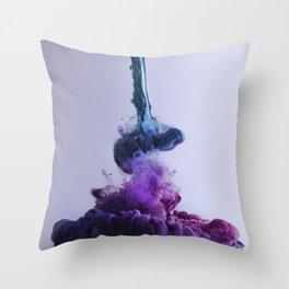 Color Splash II Throw Pillow