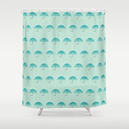 Umbrella Falls Shower Curtain