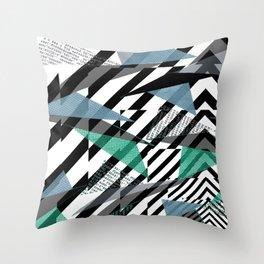 Optical Nerve Throw Pillow