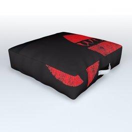 wu-tang red deep Outdoor Floor Cushion