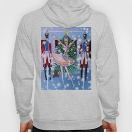 A Nutcracker Christmas Exclusive Holiday Illustration Hoody