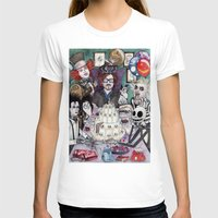tim shumate T-shirts featuring TIM BURTON TEA PARTY by ●•VINCE•●