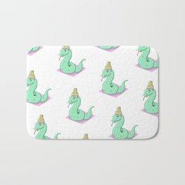 Snake Cream Bath Mat