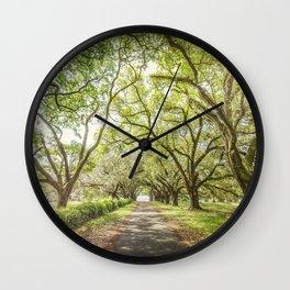A Walk Through Time Wall Clock
