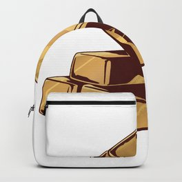 Gold Bars Invest Backpack