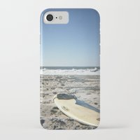 surfboard iPhone & iPod Cases featuring Surfboard by NoGoPhoto
