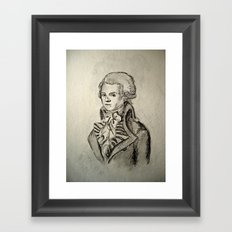 French Sketch I Framed Art Print
