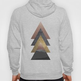 Valley, Scandinavian Modern Abstract Hoody