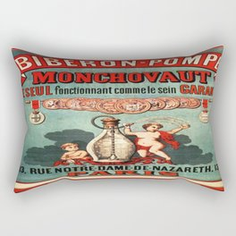 Vintage poster - Biberon-Pompe Rectangular Pillow