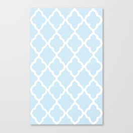 White Rombs #7 The Best Wallpaper Canvas Print