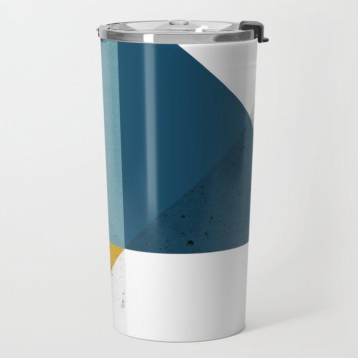 Modern Geometric 19 Travel Mug