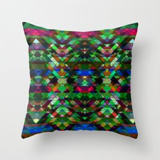 Triangle affair Throw Pillow