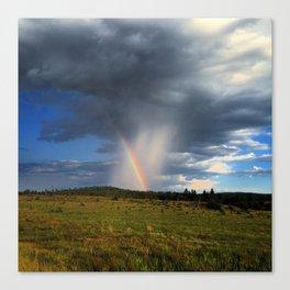 Isolated rainbows Canvas Print