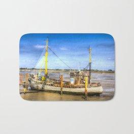 """Heybridge Basin Boat """" The Ranger """" Bath Mat"""