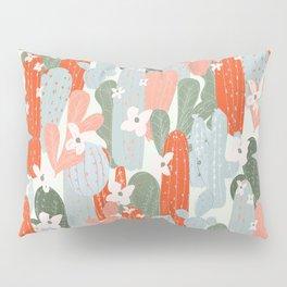 Floral Cactus Pillow Sham