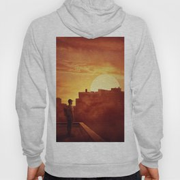 sunset mystery Hoody