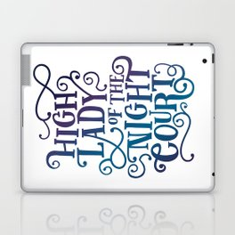 High Lady Of The Night Court - Gradient Laptop & iPad Skin