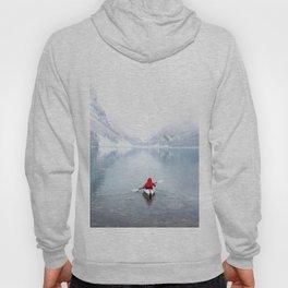 Kayaking Across A Canadian Lake Hoody