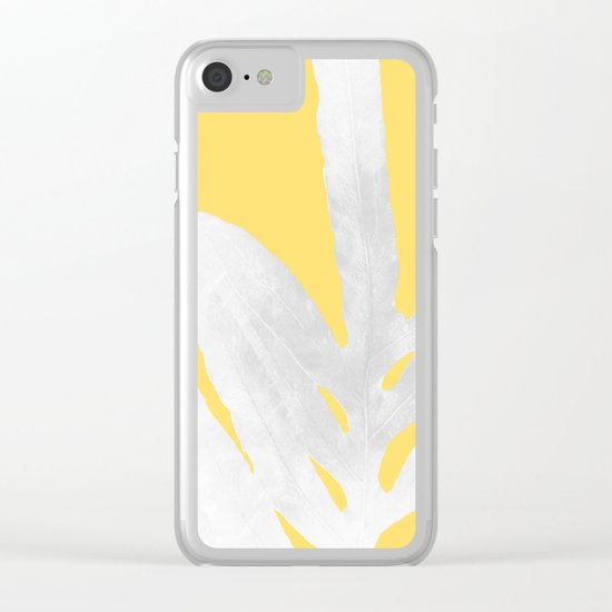 Ferns and Tangerines Clear iPhone Case