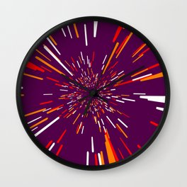 Space Trip 4 Wall Clock